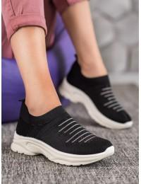 Juodi laisvalaikio stiliaus batai kasdienai  - ANN20-14400B