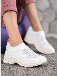 Balti laisvalaikio stiliaus batai kasdienai\n - ANN20-14400W