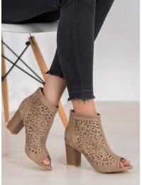 Madingi ažūriniai batai atviru priekiu - LE20-20120BE