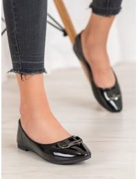 Aukštos kokybės juodos spalvos stilingi bateliai - BOB20-18015B