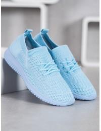 Mėlynos spalvos aukštos kokybės patogūs stilingi bateliai - 6309LT.BL