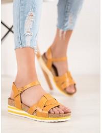 Aukštos kokybės geltonos spalvos basutės - ALS037Y