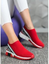 Sportinio stiliaus raudoni aukštos kokybės bateliai - 156R