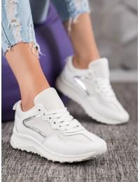 Klasikiniai balti SNEAKERS modelio batai - GT88-903W