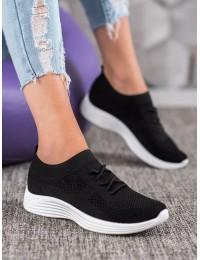 Juodi laisvalaikio/ sportinio stiliaus batai - LEB-351B