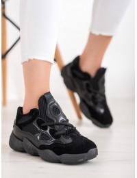 Madingi juodi aukštos kokybės batai - AB-532B