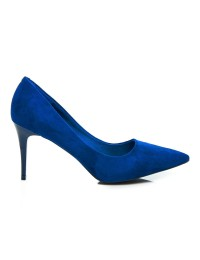 Elegantiški mėlynos spalvos aukštakulniai - EL1619BL