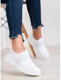 Balti stilingi aukštos kokybės laisvalaikio stiliaus batai - 7-K2026W
