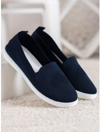 Tamsiai mėlynos spalvos stilingi lengvi ir patogūs bateliai\n - ZK099BL