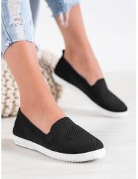 Juodos spalvos stilingi lengvi ir patogūs bateliai\n - ZK099NE