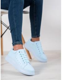 Stilingi švelnios mėlynos spalvos patogūs bateliai - WBH01L.BL