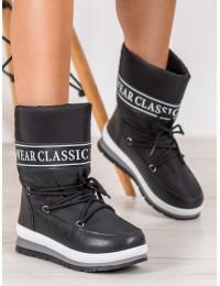 Šilti lengvi juodos spalvos batai - DS8825B