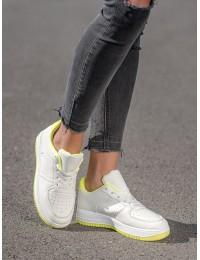 Balti stilingi odiniai bateliai kasdienai - BL3619Y