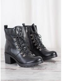 Aukštos kokybės eko odos batai tvirtu padu - XY21-10552B