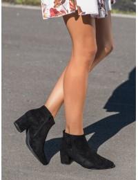 Aukštos kokybės elegantiški stilingi juodi aulinukai - XY21-10561B