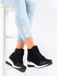 Natūralios odos aukštos kokybės prabangaus stiliaus batai su platforma - DBT1504/20B