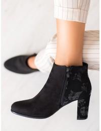Elegantiški aukštos kokybės batai su papuošimu - BT547B/G