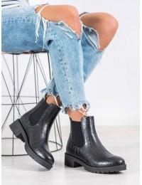 Stilingi juodos spalvos batai - BK906B