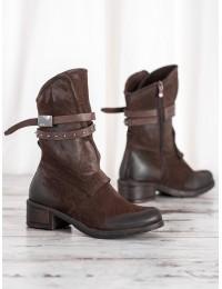 Rudos spalvos klasikinio stiliaus batai - ST-05BR