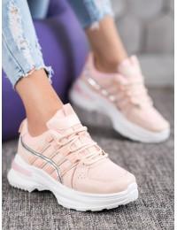 Madingi sportinio stiliaus batai su platforma - C9288RO