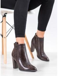 Elegantiški stilingi aukštos kokybės batai su kulnu - UK10BR