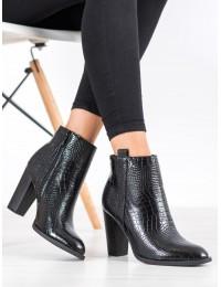Elegantiški stilingi aukštos kokybės batai su kulnu - UK10B