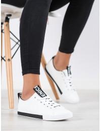 Baltos spalvos laisvalaikio stiliaus batai kasdienai - LA70B