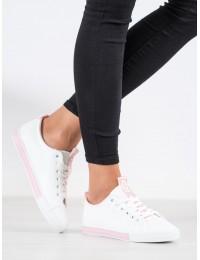 Baltos spalvos laisvalaikio stiliaus batai kasdienai - LA70P