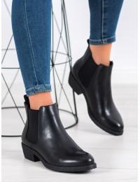 Klasikiniai juodi batai su pašiltinimu - BT551B