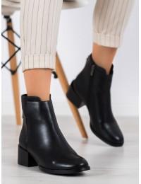 Stilingi aukštos kokybės batai su dekoratyviu raudonos/juodos spalvos užtrauktu gale - DBT1549/20B