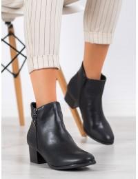 Juodi klasikinio stiliaus batai su pašiltinimu - K1938602NE-PIEL