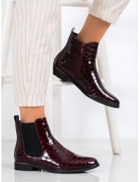 Prabangios lakuotos odos stilingi elegantiški batai - DBT1568/20BUR