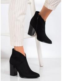 Stilingi elegancijos įkvėpti juodi aukštos kokybės batai - DBT1575/20B