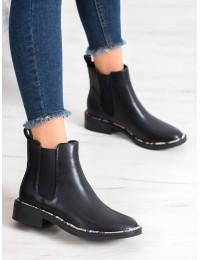 Originalaus dizaino juodos spalvos batai - OD-62B