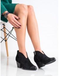Stilingi aukštos kokybės zomšiniai batai vaškuotu priekiu - XY21-10542B