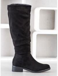 Elegantiški visuomet stilingi juodi klasikinio stiliaus ilgaauliai - D7525B