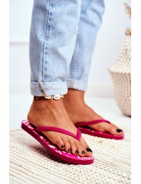 Lu Boo Pink Women's Flip Aztec Flip-flops Havanna - LS-001 PINK
