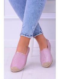Lu Boo Pink Women Espadrilles Slip On Brocade Miravet - 2870-1 PINK