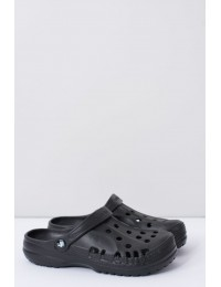 Women's Slides Crocs Black Foam EVA - B-2008 BLK