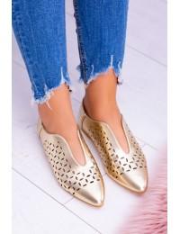 Lu Boo Gold Women Slip-on Synthia shoes - 978-C10 GOLD