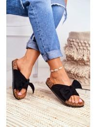 Women's Flip-flops Bows Wendy Black - CK02P BLK