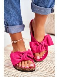 Women's Flip-flops Bows Wendy Fuchsia - CK02P FUCHSIA