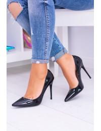 Women s Stilettos Lu Boo Lacquered Black Bellucci - BC-786 BLACK
