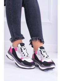 White Women's Sport Shoes Sponeto - KP8877 WHITE