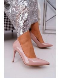 Women s Stilettos Lu Boo Lacquered Pink Lanthe - D-42 PINK
