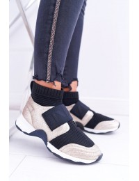 Originalaus išskirtinio dizaino stilingi batai Gold Phantom - HT9022 GOLD