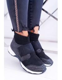 Originalaus išskirtinio dizaino stilingi batai Black Phantom - HT9022 BLK