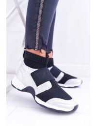 Originalaus išskirtinio dizaino stilingi batai Silver Phantom - HT9022 SILVER