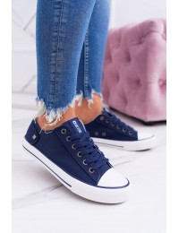 Women's Sneakers Big Star Navy Blue DD274335 - DD274335 NAVY