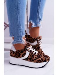 Sport Women's Shoes Leopard SportFreak - BK-21 LEOPARD